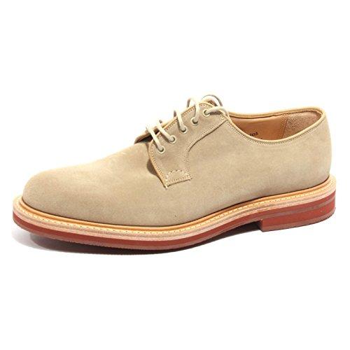 B2322 scarpa uomo CHURCH'S FULBECK fit G beige shoe man sand Beige