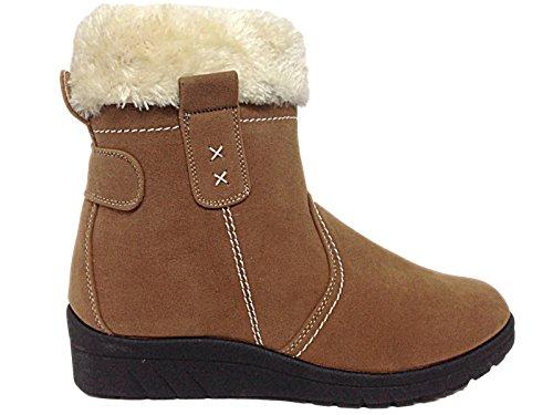 cushion-walk-thermo-tex-stivali-da-neve-da-ragazza-donna-marrone-camel-40