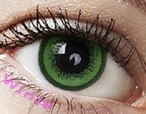 freshtone gerenkt Cutie kontaktlinse, Grün