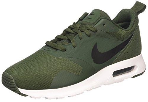 Nike Air Max Tavas, Herren Laufschuhe, Grün (Carbon Green/Black/Black/White), 44 EU (Nike Air Max Für Männer)