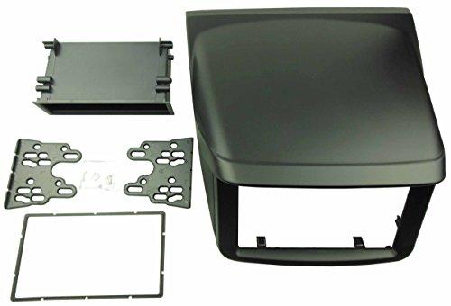 Preisvergleich Produktbild dkmus Doppel DIN Radio Stereo Dash Installation Trim Kit für Mitsubishi L200TRITON Pajero Sport 2Faszie 173* 98mm und 178* 102mm Öffnung Adapter