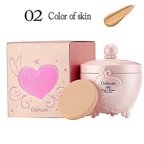 Bio BB Cream All In One Tinted Moisturizer Foundation Perfekte Glow BB Creme glättet die Haut Textur Evens Hautton für alle Hauttypen Beste Valentines Geschenk (Beige) 1PC