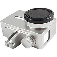 Custodia Protettiva Cover In Alluminio Gabbia Cornice Per 4k Xiaomi Yi 2 Fotocamera Sport - (Argento Gabbia)