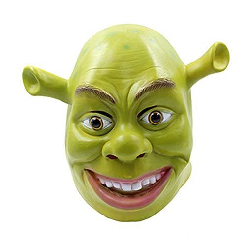 HAQO Halloween Maskerade Monster Maske Adult Smiling