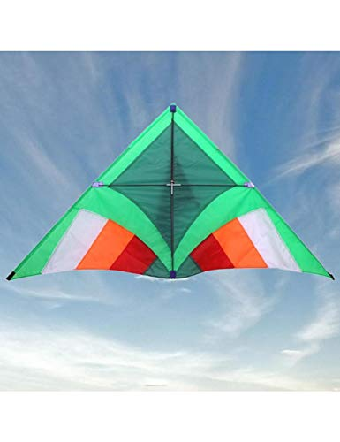 ZSYF Drachen Kite 1,4 Mt Dreieck Professionelle Outdoor Fun Sports Sturm Delta Dual LineLenkdrachen Power Kites Gute Fliegen Surf Sport Strand Spielzeug