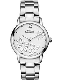 s.Oliver - SO-3139-MQ - Montre Femme - Quartz - Analogique - Bracelet Acier inoxydable Argent