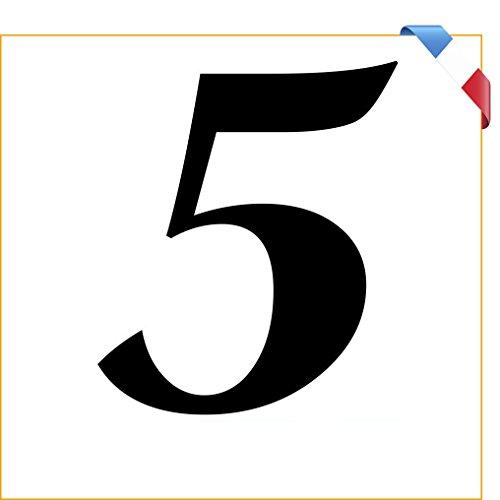 """""""5"""" numéro de maison 10 cm autocollant Vinyle Décalque numéro de maison boîte aux lettres poubelle Autocollant Sticker /Film PVC de haute qualité!"""
