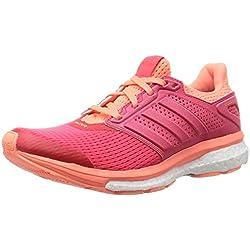 adidas Supernova Glide 8 W, Zapatillas de Running para Mujer, Naranja/Rojo (Rojimp/Rojimp / Brisol), 36 2/3 EU