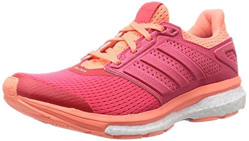 buy online b504d 46db6 Adidas Supernova Glide 8 W, Zapatillas de Running para Mujer, Naranja Rojo (