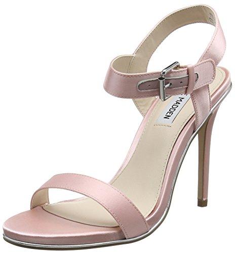 Steve Madden Damen Feeling-S Sandal Offene Keilabsatz, Pink (Pink), 37 EU (Sandale Für Damen Von Steve Madden)