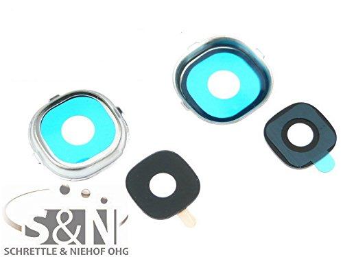 NG-Mobile Kameralinse Kamera Fenster Glas Scheibe Abdeckung + Rahmen für Samsung Galaxy S4 GT-i9505