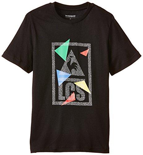 Le Coq Sportif T-Shirt für Kinder Varmido 146 schwarz - schwarz Preisvergleich