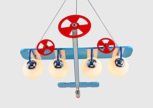 Kronleuchter zu Hause personalisierte Kronleuchte Aircraft Kronleuchter Led Creative Kinderzimmer Lichter Junge Mädchen Schlafzimmer Moderne niedliche Lampen - 5
