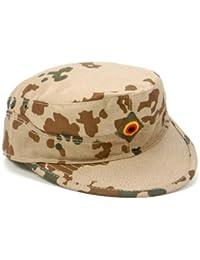 Bundeswehr Men's Combat Cap - BW Field Cap - Tropical Camo Desert Camo - UK Sizes 7 - 7 7/8 - Tropic Camo, UK 7 7/8
