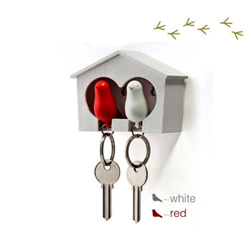 duo-wood-house-sparrow-bird-key-ring-key-holder-whistle-white-red-bird