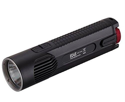 Relags Nitecore EC4S Cree XHP50 LED Taschenlampe