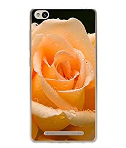 PrintVisa Beautiful Rose High Gloss Designer Back Case Cover for Xiaomi Redmi 3s