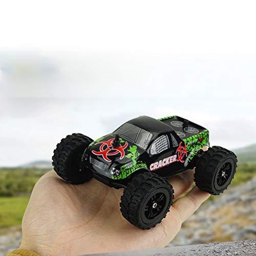 AimdonR Maßstab 1/32 Mini Monster Truck Geländewagenfernsteuerung Buggy Riesenrad LKW Fahrzeug Modell Elektrische Spielzeug - Mädchen, Monster-lkw-spielzeug