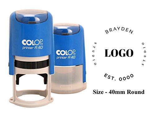 Timbro Autoinchiostrante Colop R-40 Logo Design Personalizza Timbri Stampati 40 Mm