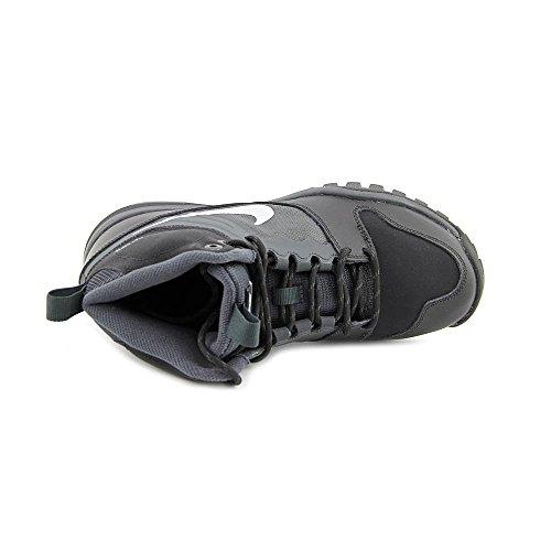 Nike Dual Fusion Hills Mid (Gs), Scarpe da Escursionismo Bambino BLACK/ANTHRACITE//METALLIC SILVER