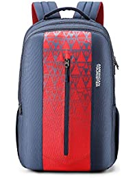 American Tourister Jet 31 Ltrs Blue Casual Backpack (FE0 (0) 01 003)