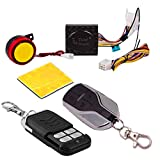 SHOP4U Anti-Theft Security System Alarm with Remote for Apache