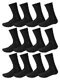 12 Pairs Mens Designer Patterned Cotton Formal Dress Socks Size UK 6-11 EUR 39-45 (BLACK)