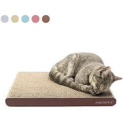Rascador de Gato para cama y sofá almohadillas rascadores para gatos de carton reciclado corrugad