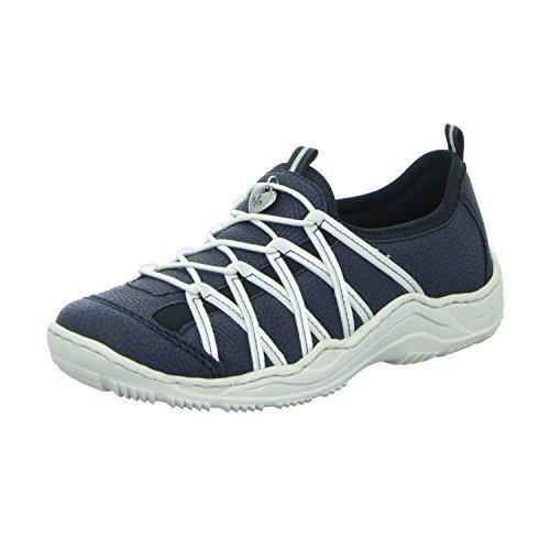 Rieker L0559-14 Scarpe Blue Blue
