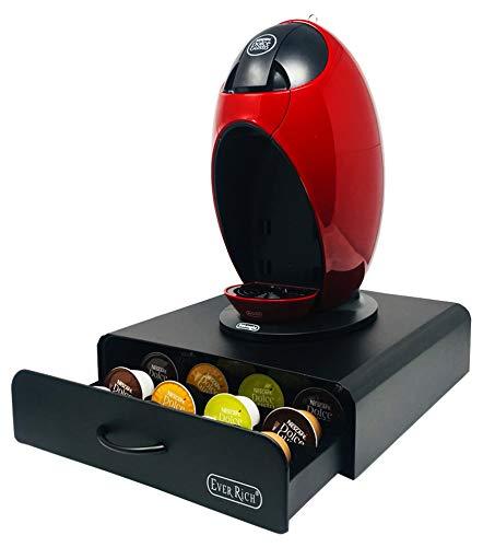 Ever rich ® dolce gusto 24/32/35 coffee pod portaoggetti rotante e 20 cassetti