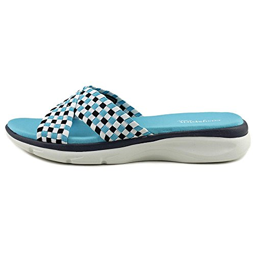 Easy Spirit e360 Pelia Stoff Sandale Blue Mul