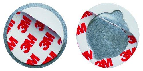 Smartwares Magnetbefestigungsset für Mini Rauchmelder, RMAG3_SW