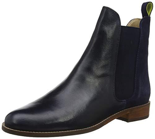 Tom Joule Joules Damen Westbourne Chelsea Boots, Blau Navy, 39 EU (Boots Blau)
