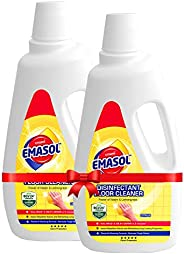 EMAMI EMASOL Disinfectant Floor Cleaner Citrus 975 ml (Pack of 2)