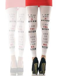 Hotlook I AM NOT A BITCH Legging bedruckt von Hotlook lustig funny Textprint