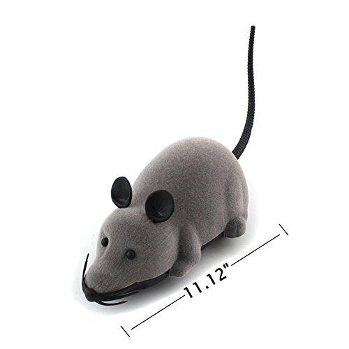 PanDaDa Haustier Katzen Hunde Neuheit Geschenk Spielzeug Lustige Ratte Maus Wireless Elektronische Fernbedienung - 4