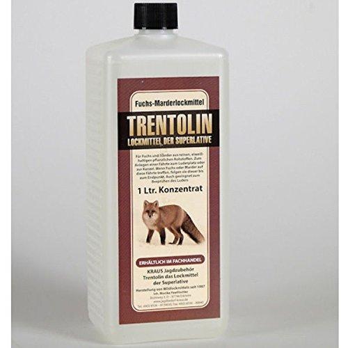 Professionelles Marder-Lockmittel Trentolin 1L sehr ergiebiges Konzentrat = 10L natürlicher Lockstoff für Marder und Füchse