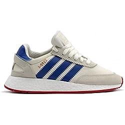 Adidas I-5923 Zapatillas de deporte Hombre, Blanco (Off White/Blue/Core Red 0), 44 EU