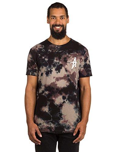 Herren T-Shirt Altamont Dark Days T-Shirt Brown/Black