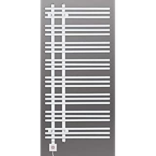 Towel Rail, Electric, Electric, 1300h x 500B, White, Heating Element with Timer, ktx-3, Heated Towel Rail