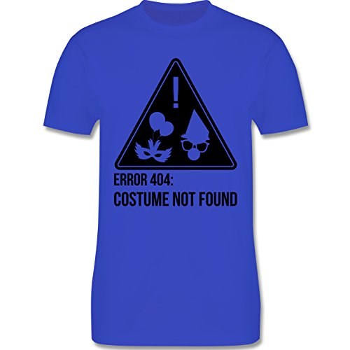Karneval & Fasching - Error 404: Costume not found - Herren Premium T-Shirt Royalblau