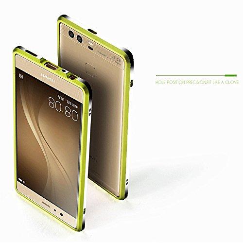 Dulaxie - Für Xiaomi 4 4s 5 Fall Highlight Ultra Thin Metallstoßaluminiumrahmenabdeckung für Sony Z3 Für Oppo R9 / R9 Plus für iPhone 6 / 6S [Grün für Xiaomi 5] (Iphone 4s Otterbox Fall)