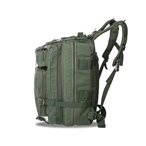 Imagen de eyourlife rfid  militar táctica molle para acampada camping senderismo deporte backpack de asalto patrulla para hombre mujer 40l verde ejército alternativa