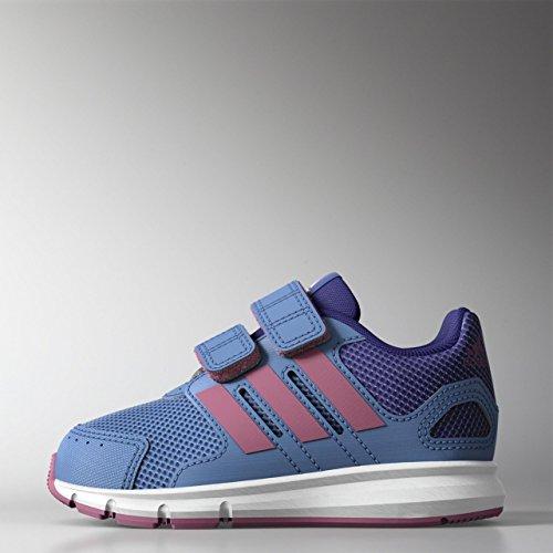 adidas Lk Sport Cf I, Baskets Basses Mixte Enfant Azul, Rosa