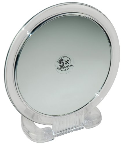Fantasia - specchio da tavolo in plastica, ingrandimento%x, ø 15,5 cm