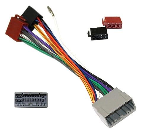 AERZETIX: Adaptateur fiche convertisseur câble faisceau autoradio ISO E1 pour
