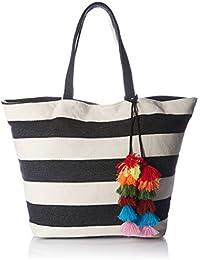 Forever 21 Women's Handbag (Cream/Multi) (00249830011_0024983001_CREAM/MULTI_1_)