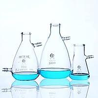 Botellas de filtrado 3.3 de vidrio de borosilicato transparente de calidad alimentaria, cristal de pared pesado, 1000 ml de capacidad