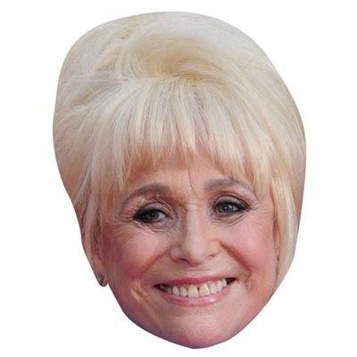 Barbara Windsor Maske aus (Maske Barbara Erwachsene)