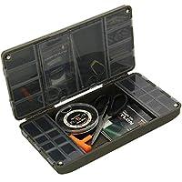 g8ds® Tackle-Box Aufbewahrungsbox mit Magnetverschluss inklusive 20cm Maß auf der Vorderseite Karpfenangeln